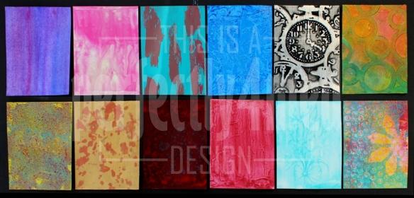 Acrylics Sampler