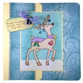 Rudolph - Blue